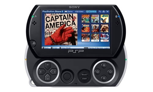 PSP Digital Comic Reader